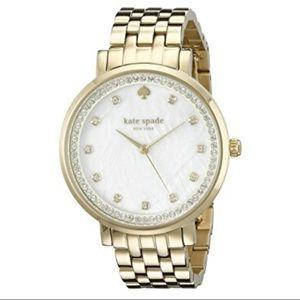 Kate Spade Monterey Gold Watch